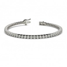 4 Prong Setting Tennis Bracelet