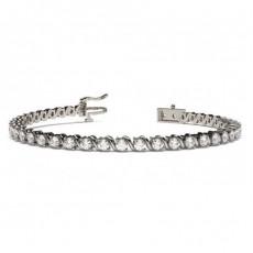 S-Link Round Diamond Tennis Bracelet